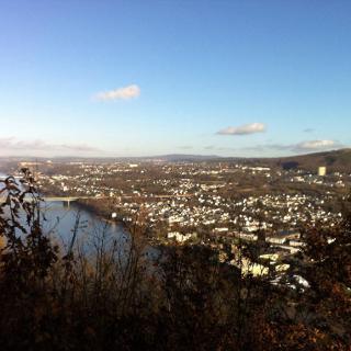 Blick über Rheintal