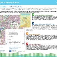 VitalWanderWelt Portaltafel Bad Oeynhausen Herz- und Diabeteszentrum