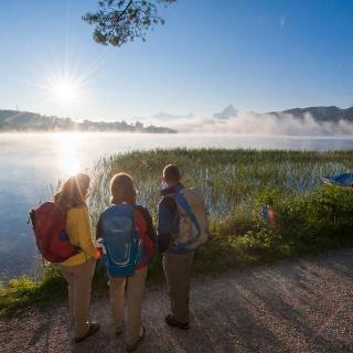 Wanderung um den Weißensee