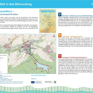VitalWanderWelt Portaltafel Bad Wünnenberg