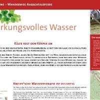 VitalWanderWelt Wanderweg Aabachtalsperre - Wirkungsvolles Wasser