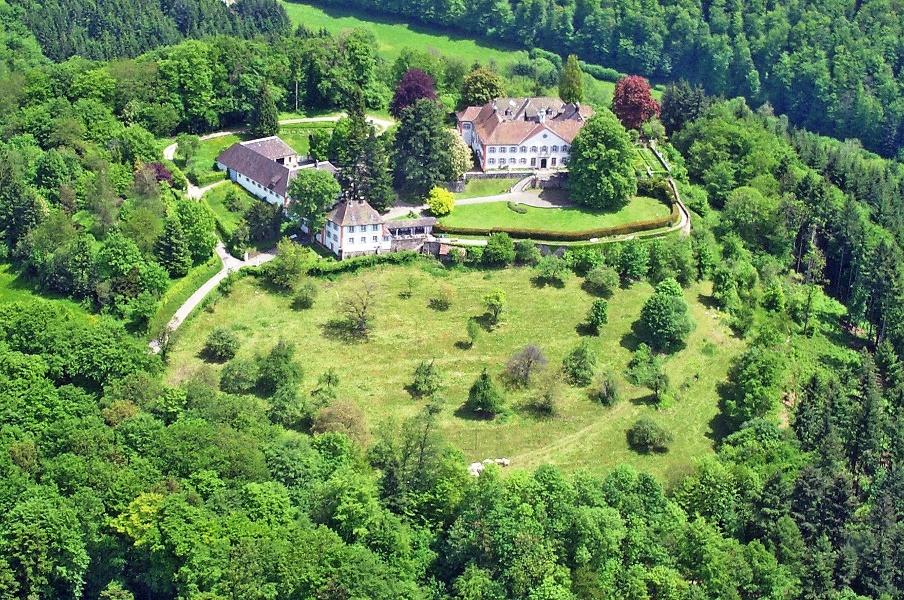 Radtour zum Schloss Bürgeln durch das Markgräflerland von Badenweiler aus