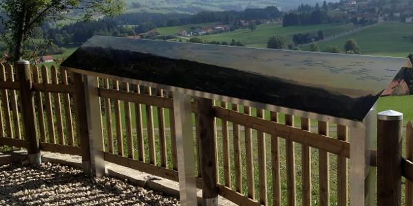 Panoramatafel Oberreute