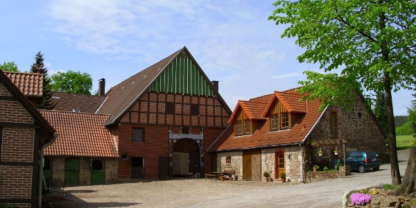 Bauernhofpension Lüdekingshof: Hofansicht