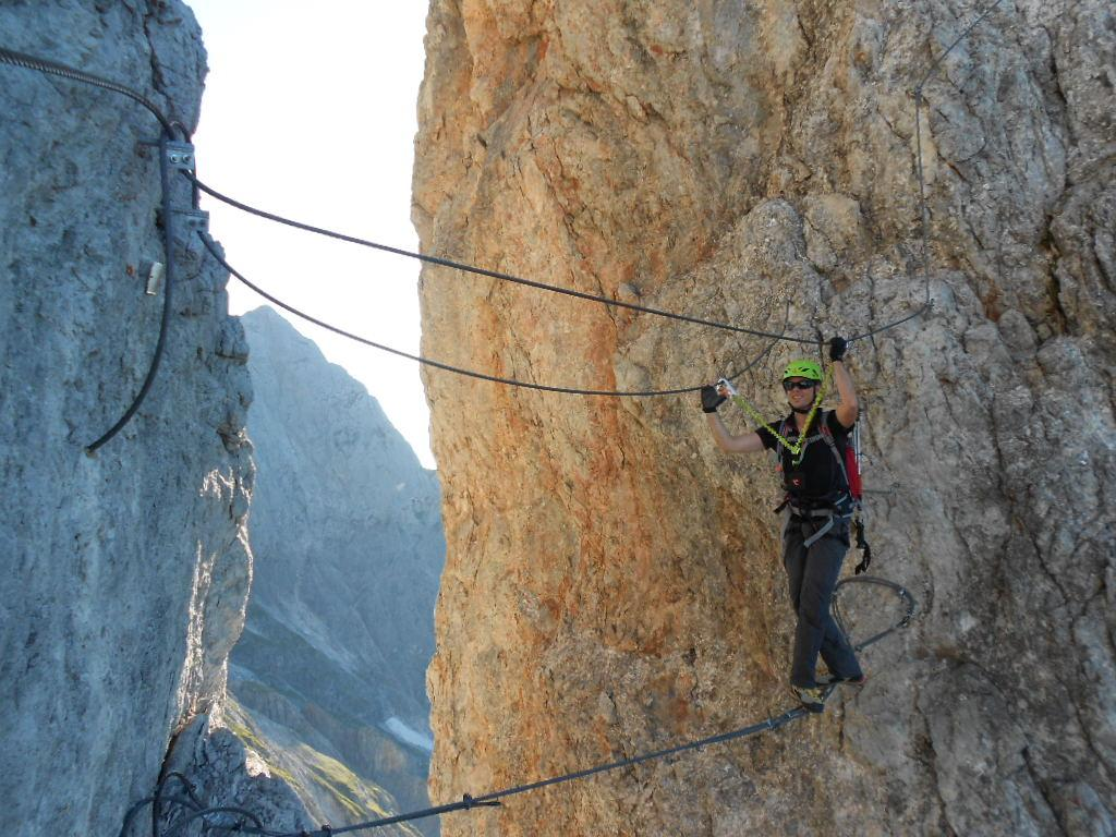 Klettersteig Königsjodler : Hochkönig königsjodler klettersteig alpenverein