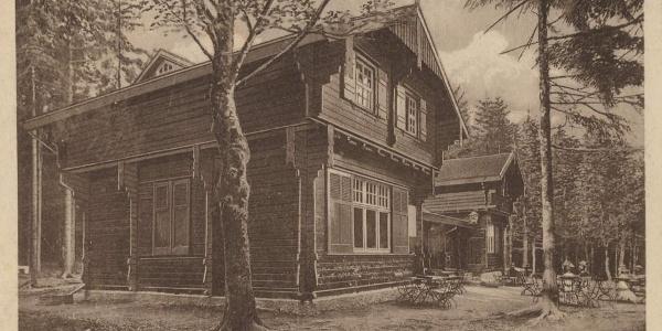 Waldschänke Dreiherrnstein um 1900