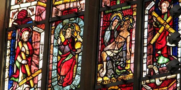 Chorfenster - Dom Erfurt