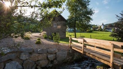Altes Backhaus im Ortskern von Oberhenneborn