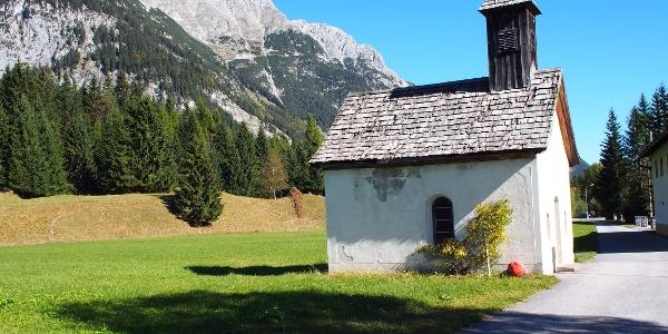 Start: Kapelle in Reindlau