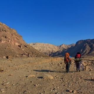 Wandern im Timna National Park