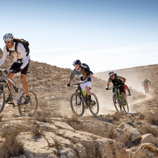 Mountainbiken in der Negev