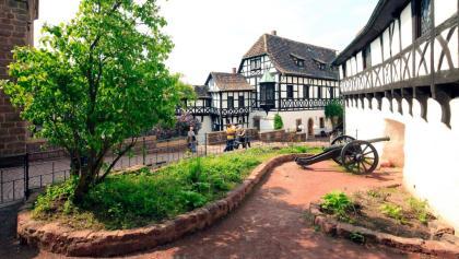 Wartburg Eisenach Burghof