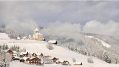 Winterwanderung von San Martin über Lovara - Preroman bis nach Costa und zurück