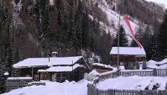 Toboggan run Schwarzbachalm hut - Rio Bianco-Weißenbach