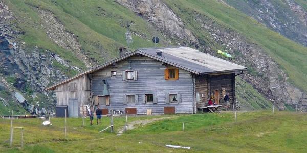 Sandjoch Brixnerhütte