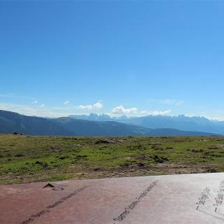 Piattaforma panoramica al Giogo della Croce