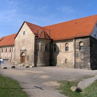 Peterskirche Erfurt von Süden