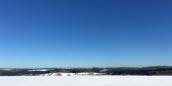 Blick Loßburg auf die Schwäbische Alb
