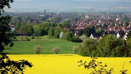 Blick aus Einbeck