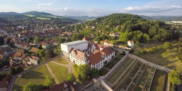 Schloß Wilhelmsburg Schmalkalden Luftaufnahme