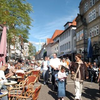 Bäckerstraße in Hameln