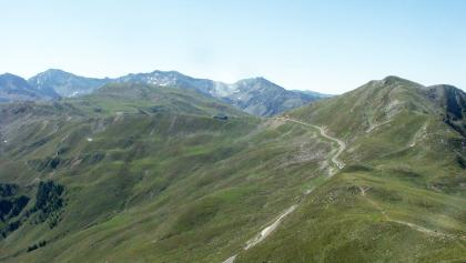 Der Alpenrosenhof auf dem Penser Joch