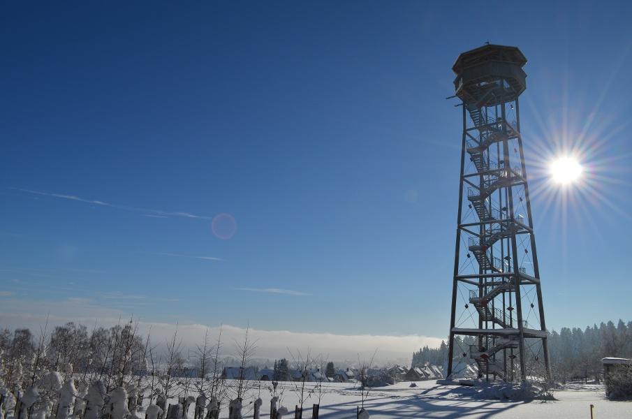Loßburg Winterwandern nach Freudenstadt