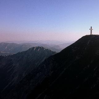 Blick auf den Gipfel der Veitsch
