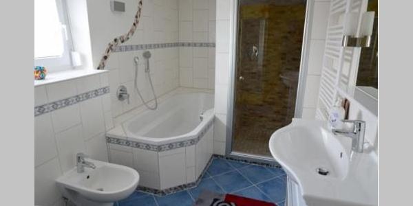 Badezimmer (WC und Dusche)