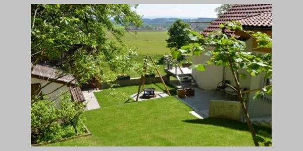 Grillplatz und Gartenlaube