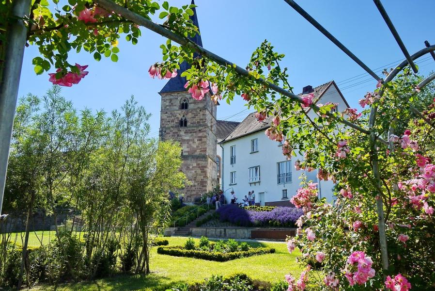 Radtour Gärten mit Geschichte - 4 Gärten in Tälern und auf Hügeln