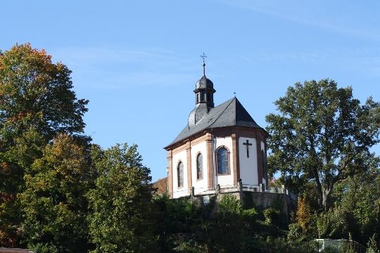 Kapelle des Kloster Blieskastels - ein Garten mit Geschichte