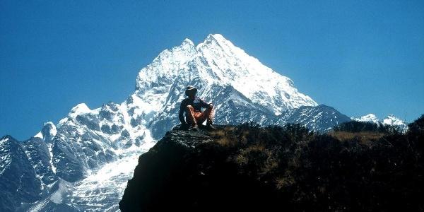 Am Höhenweg nach Khumjung
