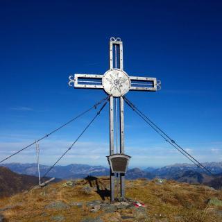Gipfelkreuz des Steinkogel.