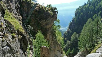 Meraner Höhenweg Tausend Stufen