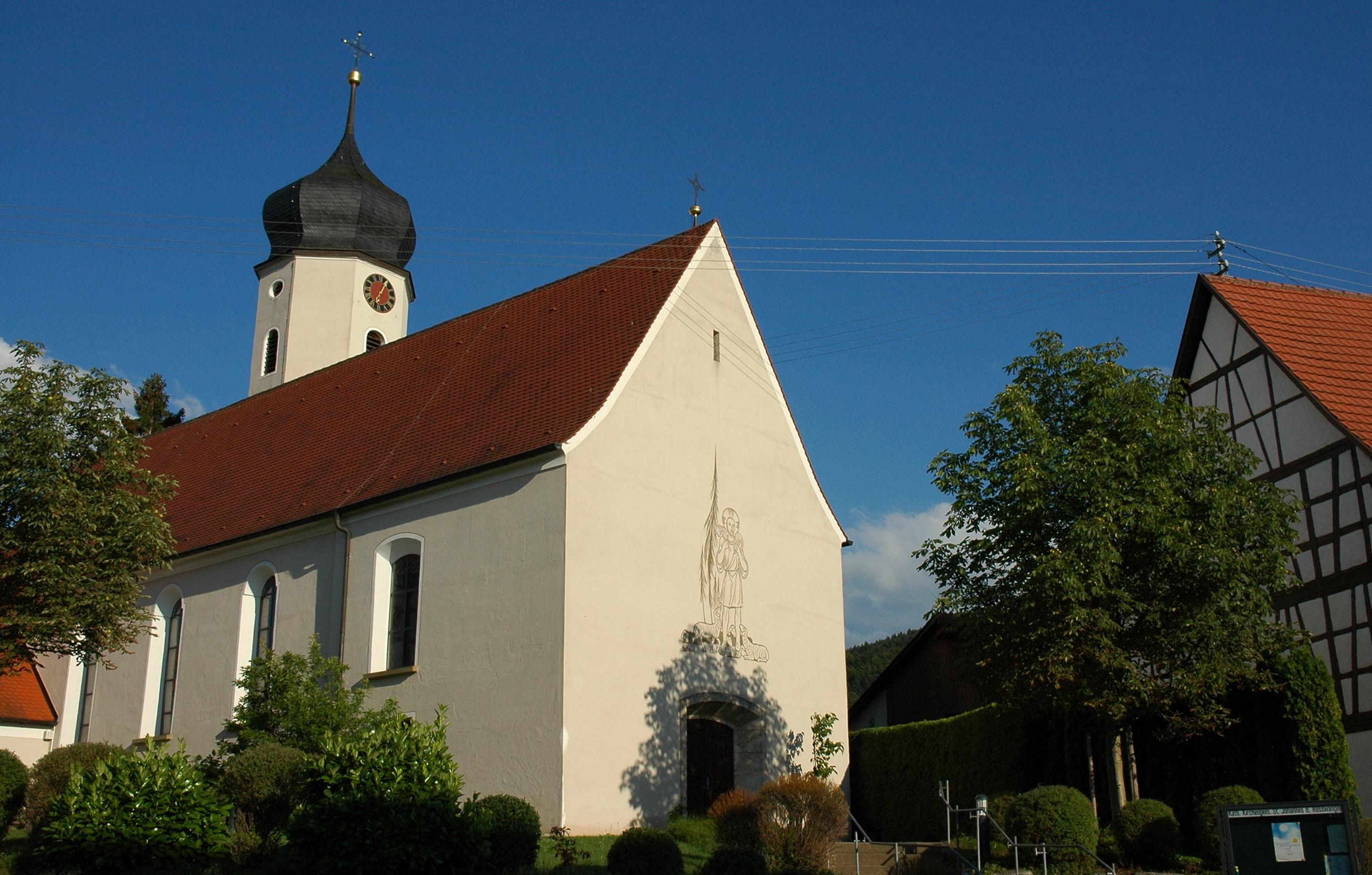 Kirche in Rosswangen