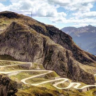 Tremolastrasse, Gotthardpass, copyright Davide Seddio