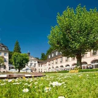 Kurgarten mit Schlößchen Bad Bertrich