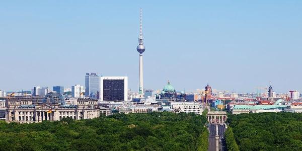 Schleifenroute - Blick über Berlin