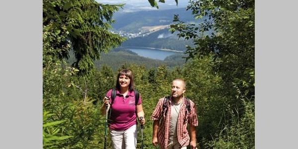 Aufstieg zum Auersberg (1018 m)