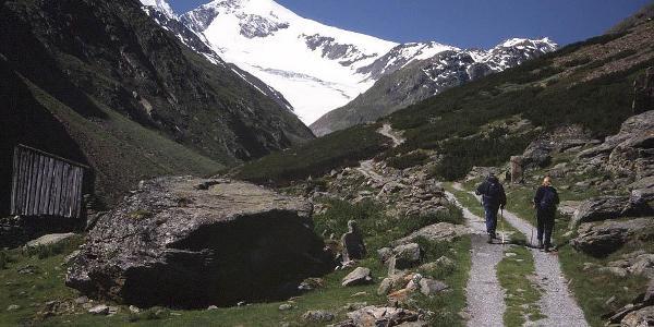 Auf dem Weg zur Similaunhütte