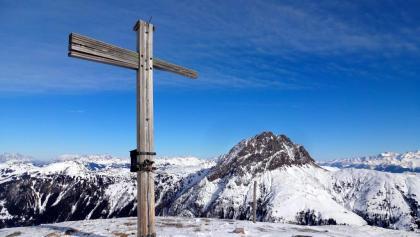 Gipfelkreuz des Gr. Tanzkogel.