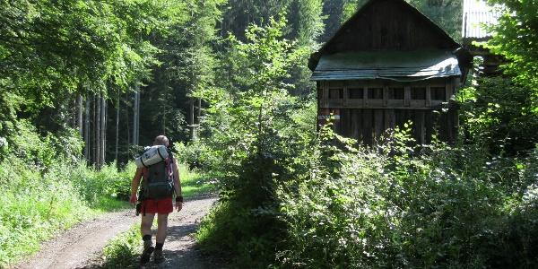 Thörl-Maglern: Aufstieg zur Göriacher Alm