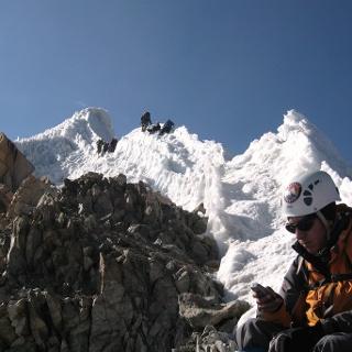 Gipfelgrat ~6065m erreicht