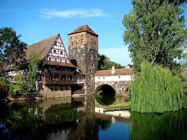 Half-timbered house in Nuremberg