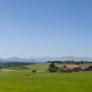 Blick nach Guntersberg