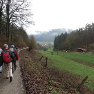 hinunter nach Heddesbach