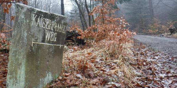 Wegmarkierungen im Odenwald