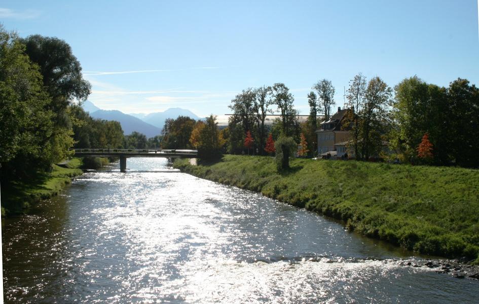 Über den Salinenradweg von Prien nach Rosenheim