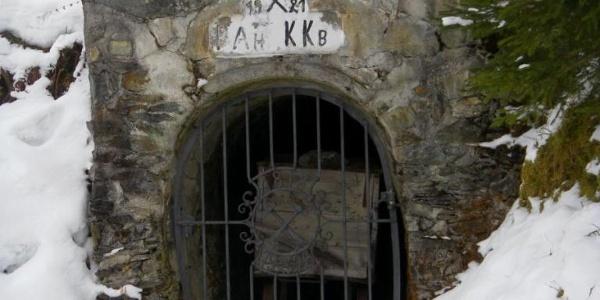 aufgelassenes Bergwerk der Kelchalm